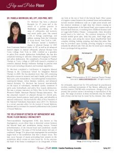 Dr. Morrison featured in The Canadian Physiotherapy Association's Spring Women's Health Newsletter