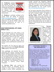 Touro College's School of Health and Sciences Newsletter